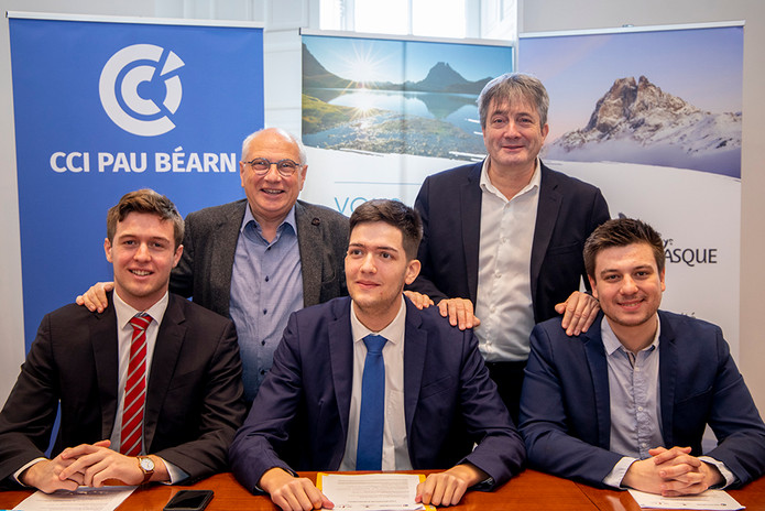 Signature d'un partenariat avec la CCI Pau Béarn et l'AaDT Béarn