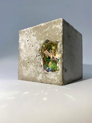 Small concrete cube