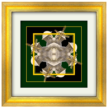 YOUNG HUNTER PRINT IN GOLDEN FRAME