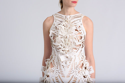 SPECIAL ORNAMENTS / 3D ORNAMENTED DRESS