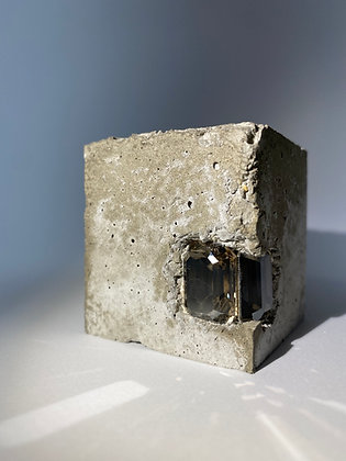 Small concrete cube