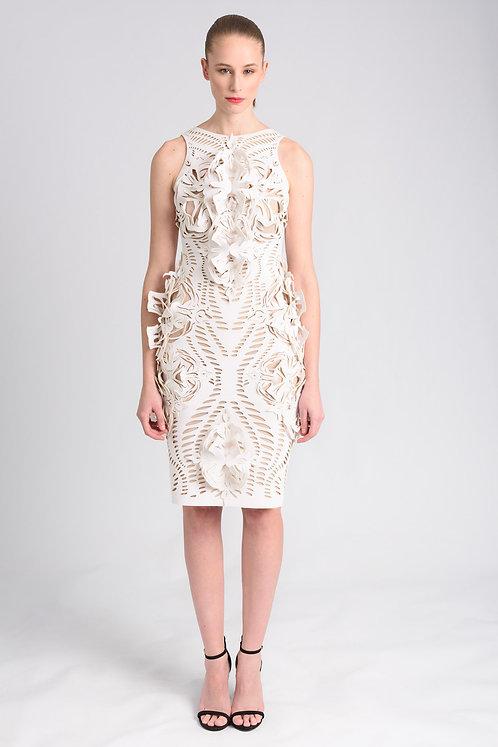 3D ORNAMENTED DRESS