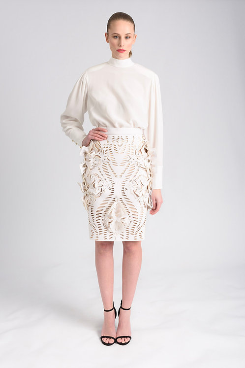 3D ORNAMENTED SKIRT