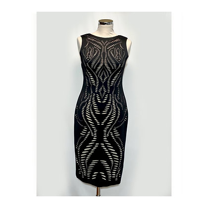 Laser cut dress - SIZE M-L