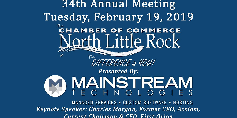 North Little Rock Chamber of Commerce 34th Annual Meeting