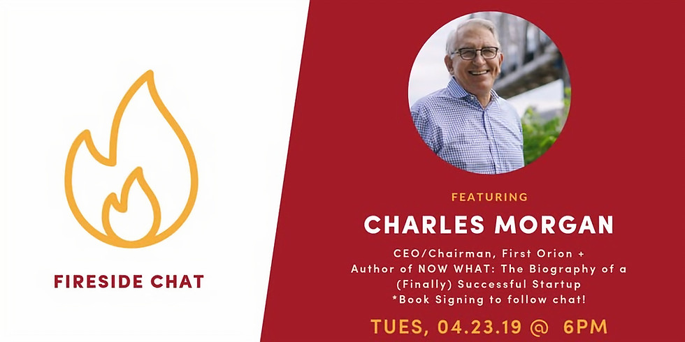 Fireside Chat at The Venture Center: Charles Morgan, CEO of First Orion