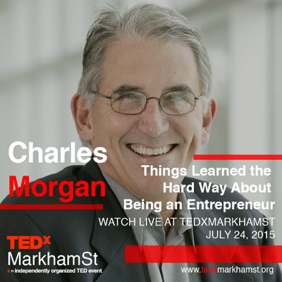 Charles Morgan Featured in TEDx talk Little Rock