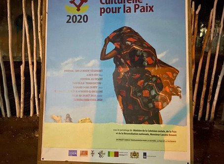 Op reis naar Mali: Ségou 'Art - Festival sur le Niger 2020