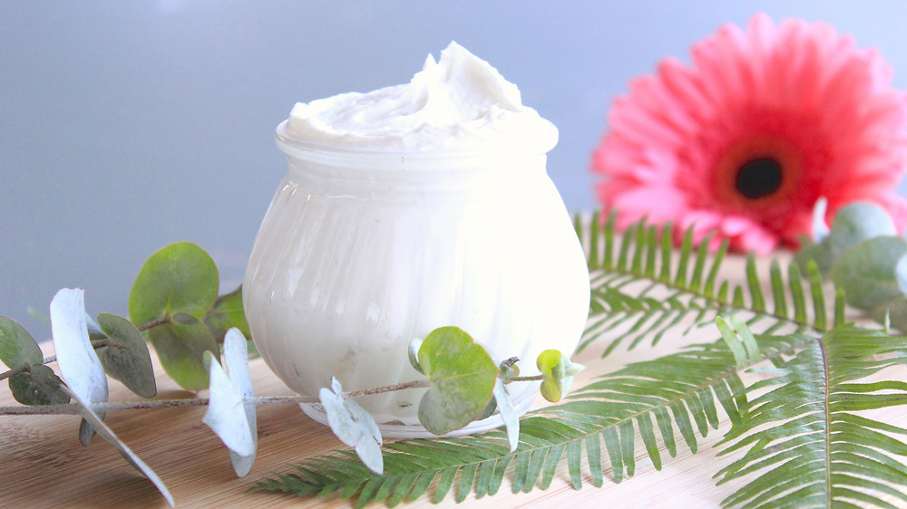 DIY natural whipped body butter