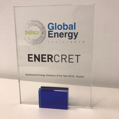 ENERCRET wins Global Energy award