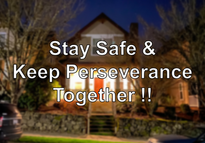 We Need Your Perseverance.