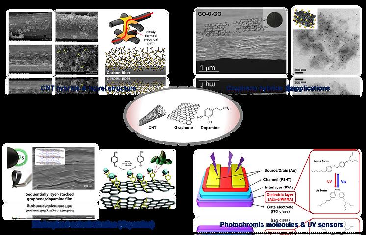 COMEL | Nano-carbons & Organics
