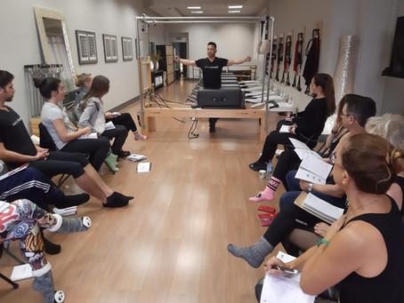 Comienzo del Curso de Formación de Profesores de Pilates en Madrid en Febrero de 2019