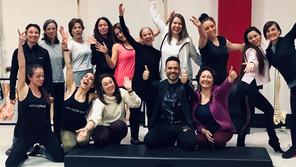 Comienzo del Curso de Formación de Pilates en Bilbao en Febrero de 2022