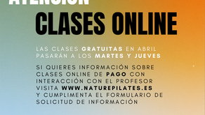 Clases de Pilates On-Line