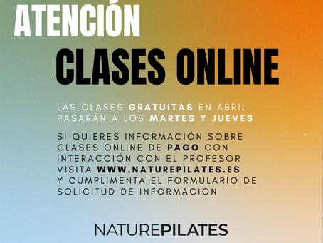 Clases de Pilates On-Line