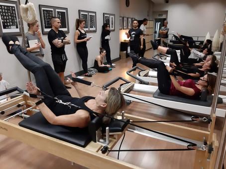 Comienzo del Curso de Formación de Pilates en Madrid en Octubre de 2020