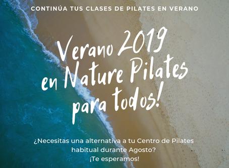 Clases de Pilates en Agosto para todos