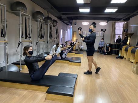 Comienzo del Curso de Formación de Pilates en Córdoba en Julio de 2021