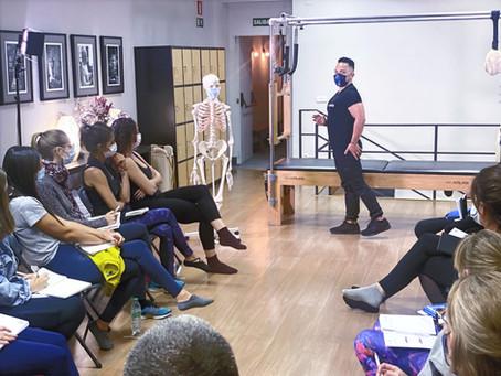Comienzo del Curso de Formación de Pilates en Madrid en Febrero de 2022