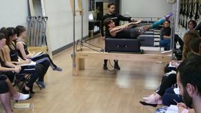 Comienzo del Curso de Formación de Profesores de Pilates en Bilbao en Febrero de 2018