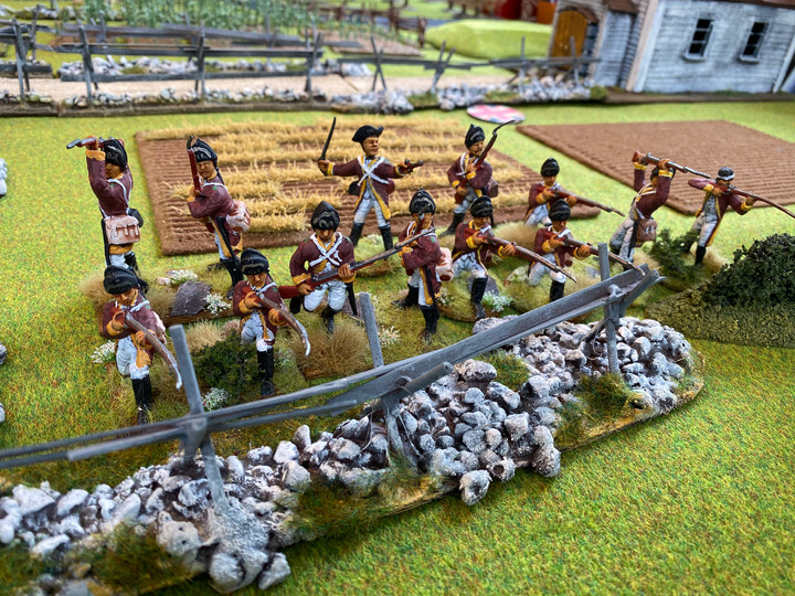 More 54mm American War of Independence Units