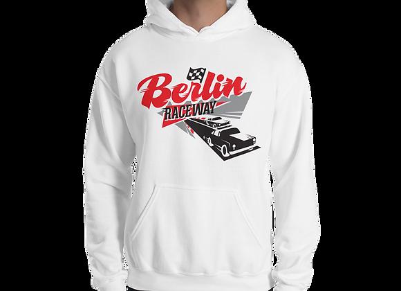 Berlin Retro Hoodie - White