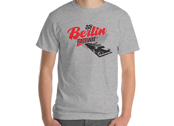 Berlin Retro T-Shirt - Sport Grey