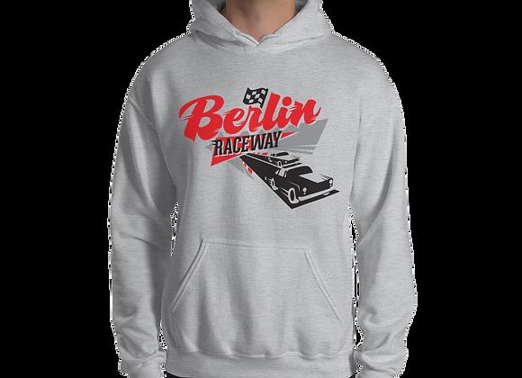 Berlin Retro Hoodie - Sport Grey