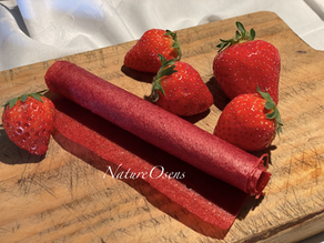 La Fraise à l'honneur avec le cuir de fraise