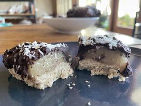 Barres chocolatées carawmel