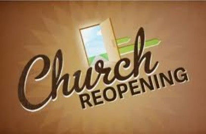 Church Re-opening