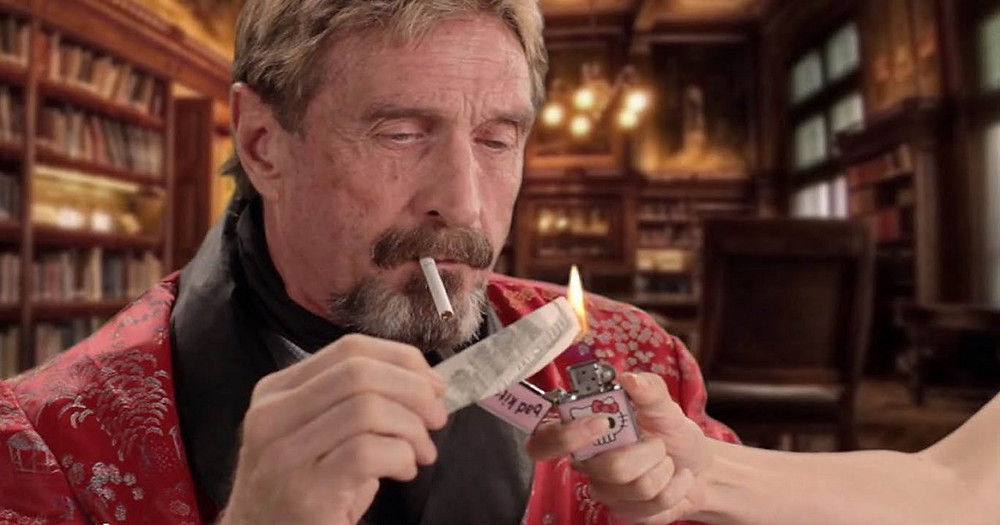 After Trashing Bitcoin, McAfee Is Promoting These Three Altcoins