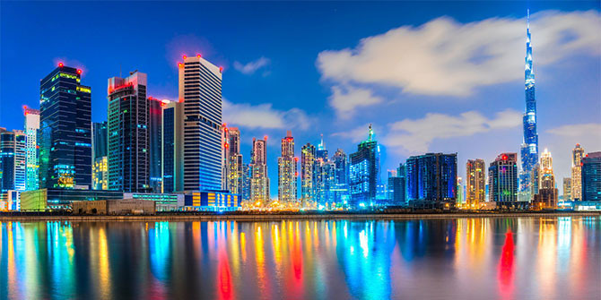 UAE Startup Relies on Blockchain Technology to Flatten COVID-19 Curve