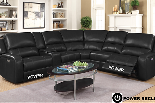 EURO XD42 Black  SECTIONAL