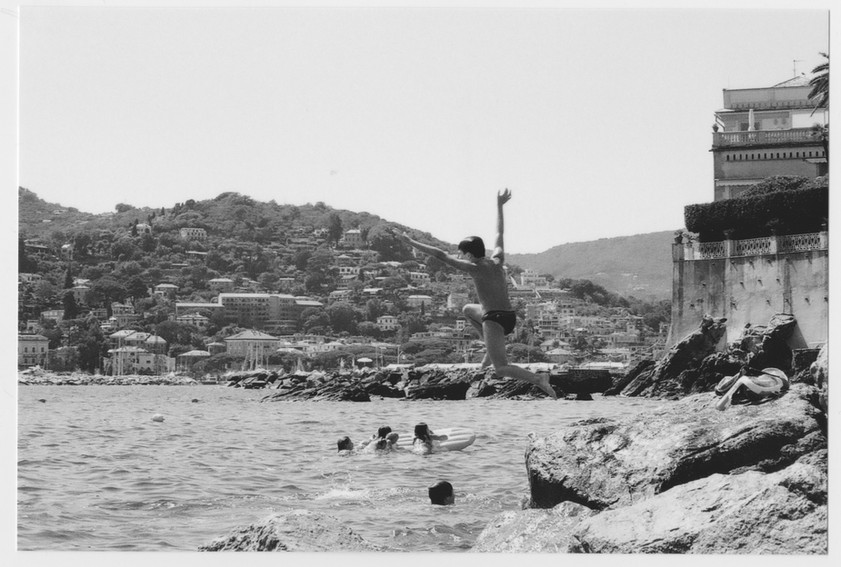 Diving boy - Rapallo