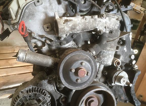 Motorblok met versnellingsbak CLK 200