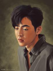 Nam Joo Hyuk Portrait Study