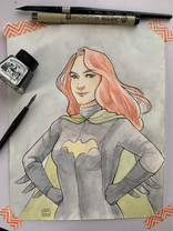 Kelly as Batwoman (Commission), 2020