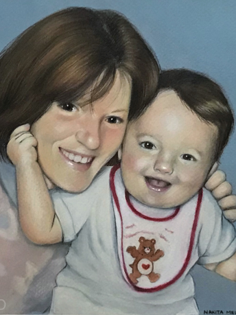 Mother and Son (Commission), 2017