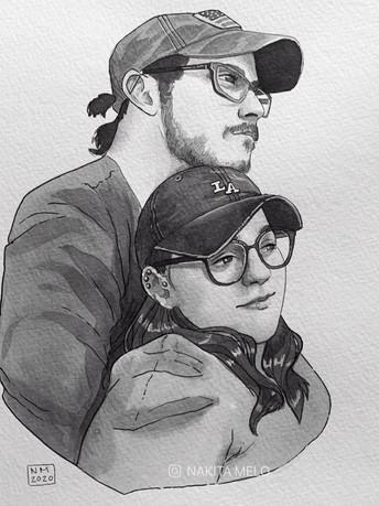 Couple (Commission) 2020