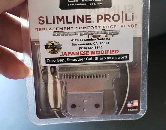 New Blade - Japanese blade Mod for andis Slimeline pro