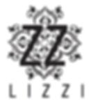 LIZZI Logo ZZ branco e azul