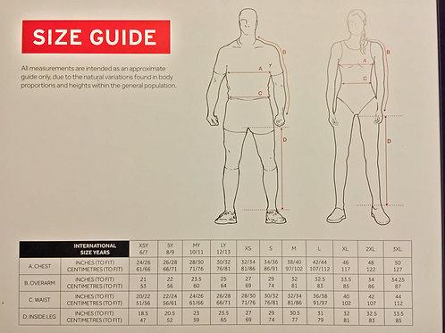 BTC Club Kit Size Guide
