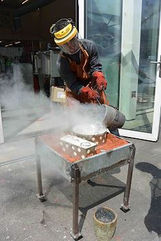 metal casting lost-form aluminium diy product design