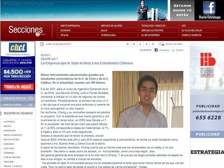 Sácate un 7 - La empresa que le sube la nota a los estudiantes Chilenos