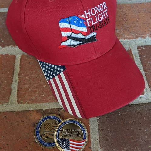 Challenge Coin & Hat COMBO