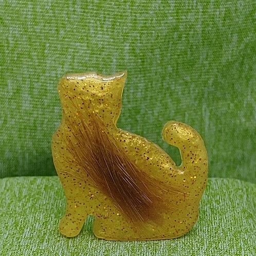 Miniature Cat Figure