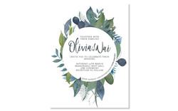 Olivia and Wai - Wedding Stationery