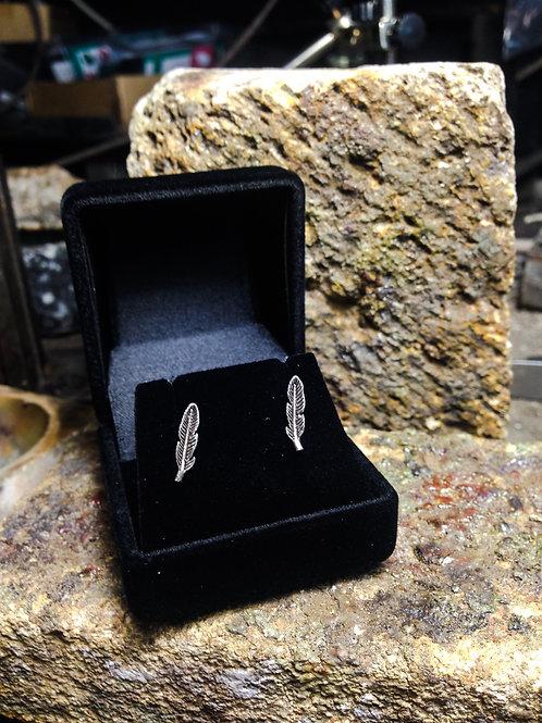 New Jewellery - Feather Studs